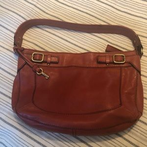 Fossil Leather Bag
